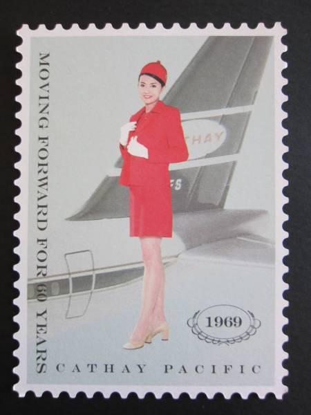 キャセイパシフィック航空■1969年スチュワーデス■60周年記念_画像1