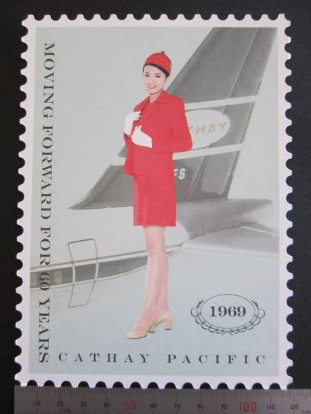 キャセイパシフィック航空■1969年スチュワーデス■60周年記念_画像3