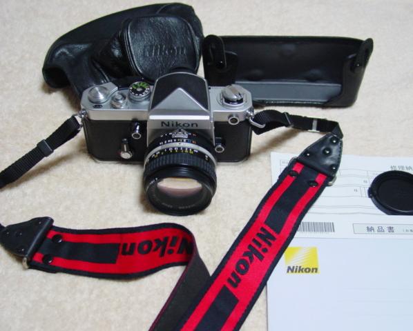 最初期シリアル『710~』 Nikon F2 アイレベル 整備済!!_画像1