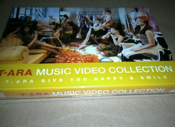 T-ARA GIVE YOU HAPPY&SMILE MUSIC VIDEO COLLECTION DVD 新品未開封 非売品 プロモ盤 公式 日本デビューグッズ Promo Only ティアラ_画像1