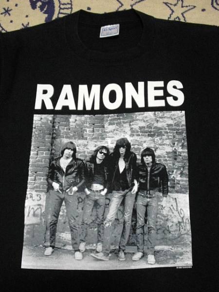 RAMONES!アメリカ製オフィシャルT★ラモーンズパンクロックCBGBニューヨークUSAアメリカ古着オールドヴィンテージバンドTロックT