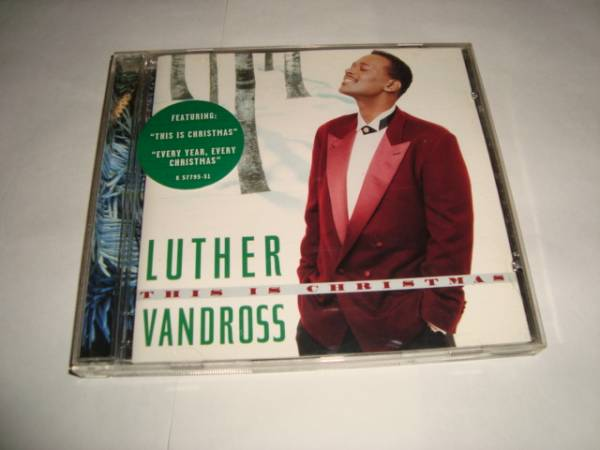 Luther Vandross Christmas.This Is Christmas Luther Vandross Real Yahoo Auction Salling