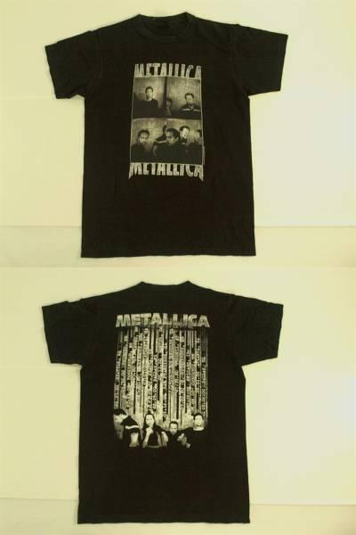 メタリカ/METALLICA【guitar】半袖Tシャツ 黒 2000年USツアー