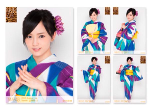 NMB 個別生写真 5枚セット2015.August 山本彩 NMB48