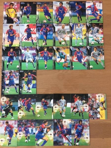 FC東京 2002-2008年Jカード全セット ジャージーカード+おまけ付 グッズの画像
