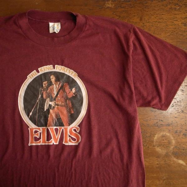 * USA製 70s ヴィンテージ ELVIS エルビスプレスリー Tシャツ XL / ロックT