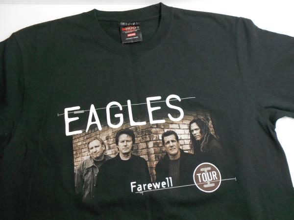 イーグルス EAGLES バンド ツアーTシャツ Mサイズ 黒