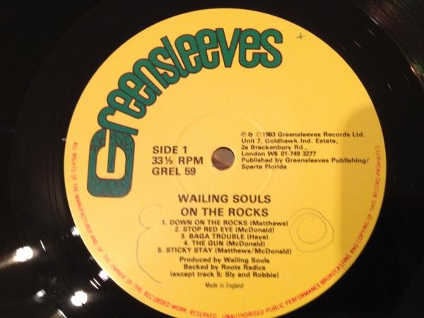 ★Wailing Souls/On The Rocks★ROOTS傑作!_画像2