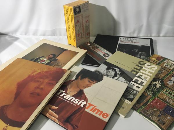 山崎まさよし ファングッズ 写真集 VHS ステッカー 等 まとめ売 ライブグッズの画像