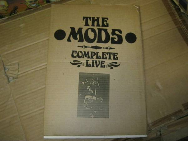MODS モッズ / COMPLETE LIVE パンフ 森山達也 ROOSTERS ROCKERS