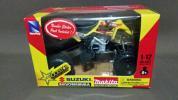 NewRay/ニューレイ製1:12 SUZUKI QuadRunner R450 ROCKST★R ATV