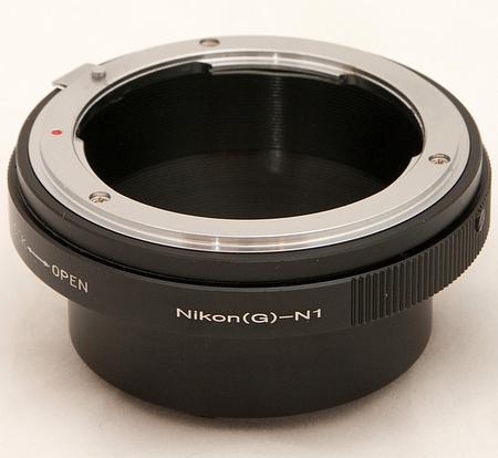 ニコン Fマウント Gレンズ → ニコン1 Nikon 1 マウントアダプター V3 J5