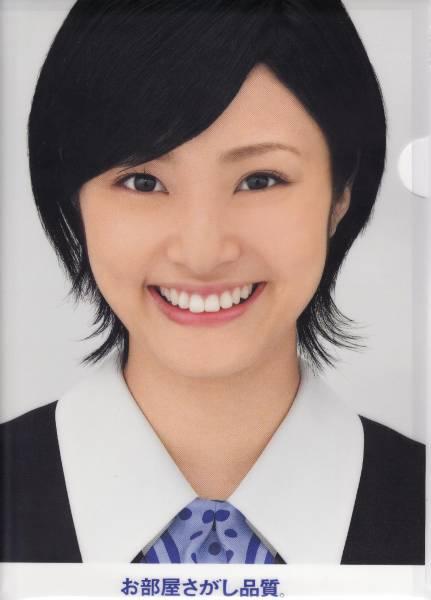 新着New★女優 上戸彩 うえとあや★非売品クリアファイル/アパマンショップ制服姿バージョン