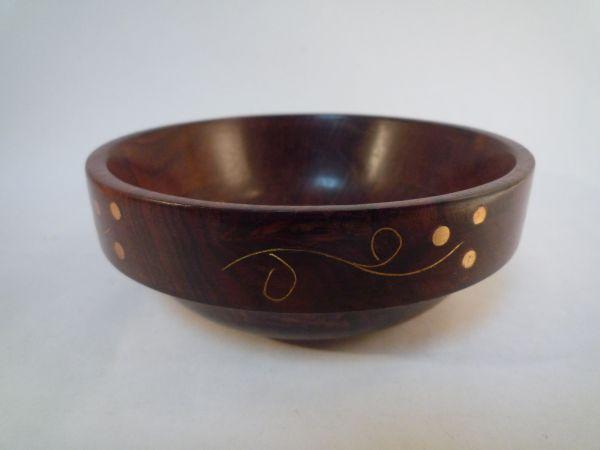 インド 手作り 器 木製 一品もの アジア 置物 1_画像3