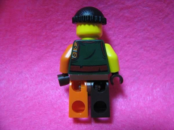 ☆レゴ-LEGO★フィグ★眼帯の強面海賊★足色違いレア美品★USED_画像2