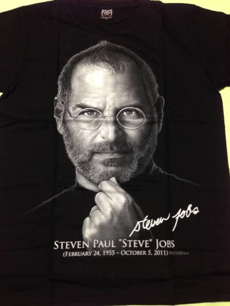 スティーブ・ジョブズ TシャツM ●未着用品◆ iPhone ◆apple