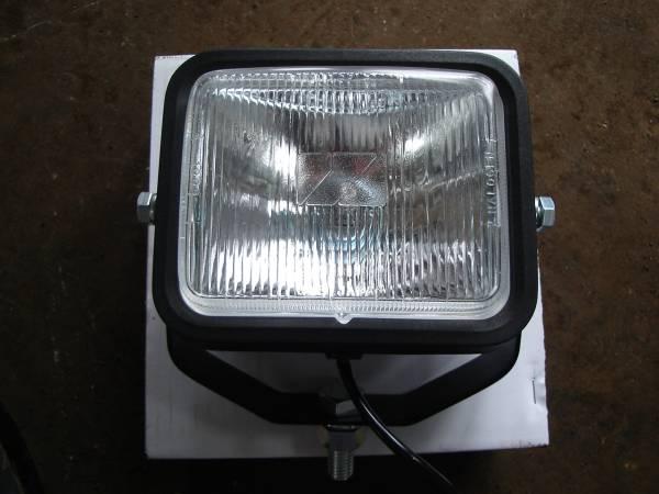 ヘッドライト 12V55W スイッチ付 新品 ユンボ 建機 クボタ U008 K008 U10 U10―3 K005 バックホー _画像1