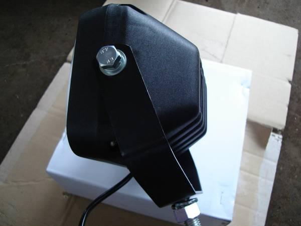 ヘッドライト 12V55W スイッチ付 新品 ユンボ 建機 クボタ U008 K008 U10 U10―3 K005 バックホー _画像3