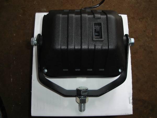 ヘッドライト 12V55W スイッチ付 新品 ユンボ 建機 クボタ U008 K008 U10 U10―3 K005 バックホー _画像2
