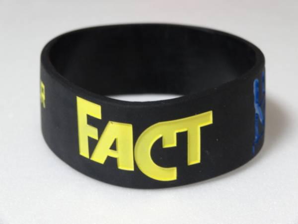 新品/FACT 2015ツアーラバーバンド黒/ファクト解散