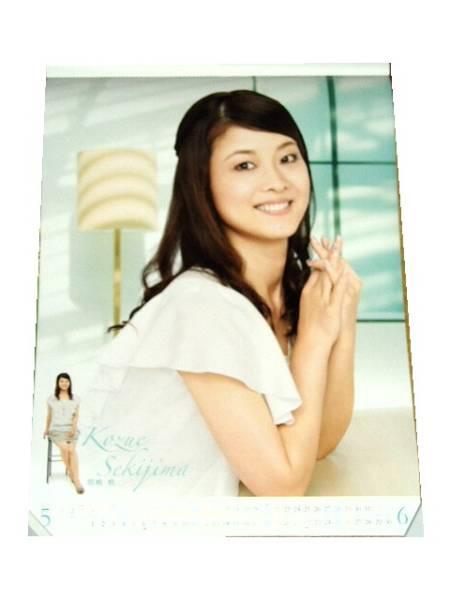 ■ポスター NHKのお天気お姉さん お元気ですか?関嶋梢さん_画像2