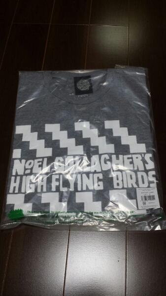 NOEL GALLAGHER'S HIGH FLYING BIRDS 新品Tシャツoasis灰