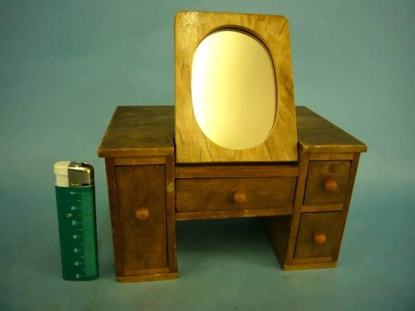 古い★収納鏡台・おもちゃの鏡台・木製玩具・昔・昭和レトロ★_画像1