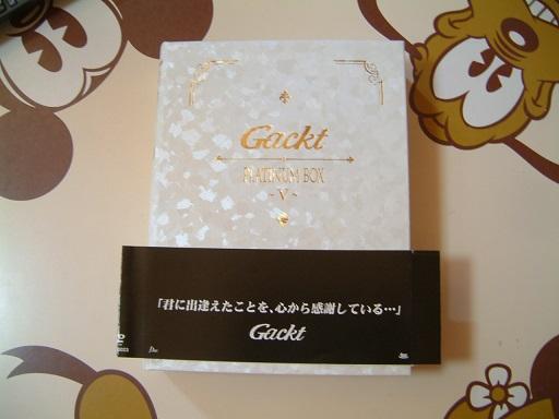 開封のみ#PLATINUM BOX~Ⅴ~#GACKT DVD ライブグッズの画像