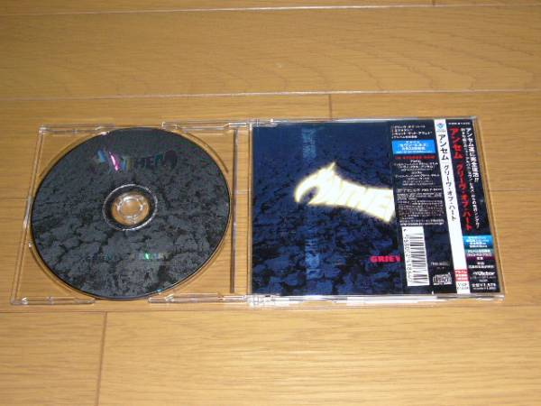 帯付 ANTHEM / グリーヴ・オブ・ハート 2001年盤 全3曲