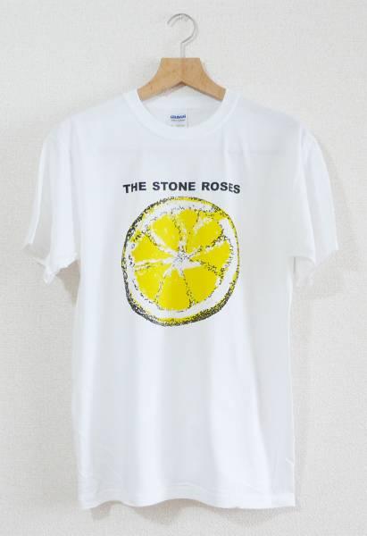 Stone Roses 【新品】T-シャツ(Lサイズ) バンド ギターポップ ソフトサイケ