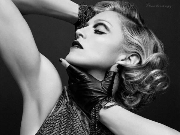 Madonna マドンナ モノクロ・カラー アート フォト 3枚付き