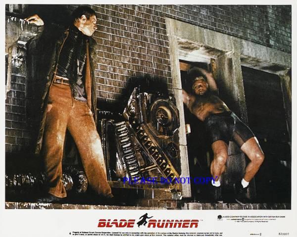 1982年 映画 ブレードランナー ハリソン・フォード ルトガー・ハウアー  ロビーカード 2枚付