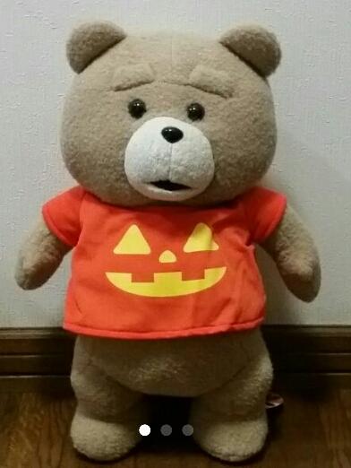 《テッド2》ted 2 ぬいぐるみXL part9 ハロウィンver. グッズの画像