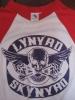 レイナード スキナード ラグラン Tシャツ S スカル ウィング LYNYRD SKYNYRD ドクロ 検索 サザンロック バンド ベースボール
