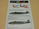 Kits-World キッツワールド デカール 1/72 B-25 映画 キャッチ22 105 CATCH22 MITCHELLS