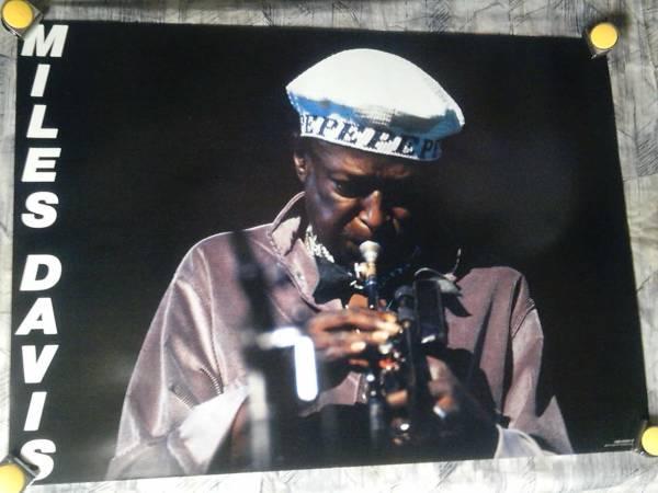 b6【大型ポスター/A1】マイルス デイヴィス-Miles Davis