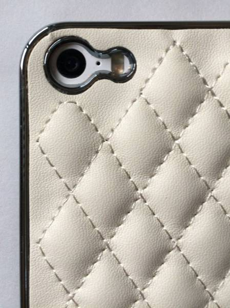 A-CASE for iPhone5,5S,SE-白レザーケース(新品)_画像3