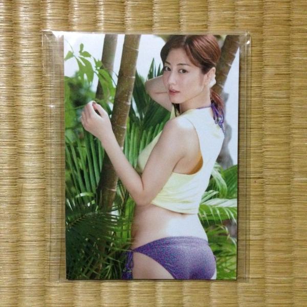 杉本有美 Smile ビキニ紐ストラップ&生写真