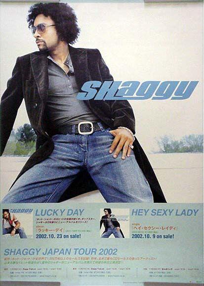 SHAGGY シャギー B2ポスター (F01002)
