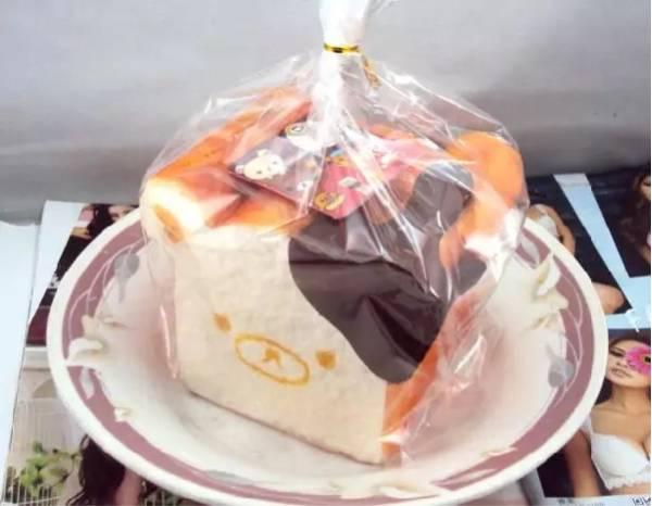 リラックマ 食パン スクイーズ 15cm 1斤サイズ 数量限定9 グッズの画像