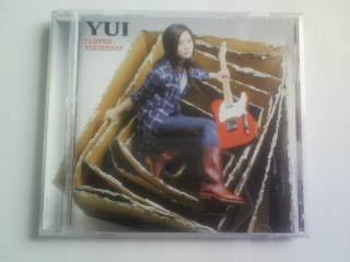 CD YUI I LOVED YESTERDAY ユイ_画像1