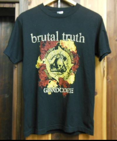 BRUTAL TRUTH SEMI-AUTOMATIC GRIND Tシャツ BRUJERIA CARCASS