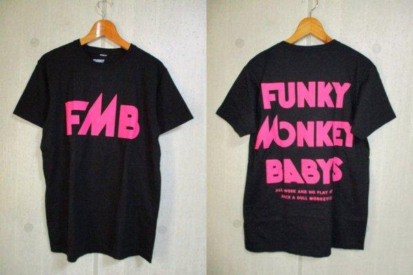 t146 ファンキーモンキーベイビーズ Tシャツ L 黒 25