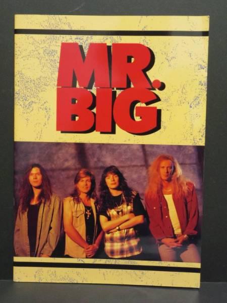 Mr.BIG ミスタービッグ ツアーパンフレット 1993