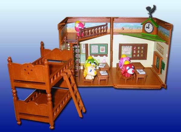 ■どうぶつの森 教室ジオラマ フィギュア!!!■ グッズの画像
