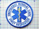 EMTワッペンパッチ:救急救命士 First Responder 医療*ems新品sol