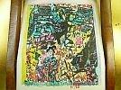 棟方志功■安川電機■印刷額装品■愛媛大洲城跡■額サイズw4