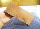 津軽弘前りんごの木表札(青森県りんご百年記念)ひび節欠有未使用