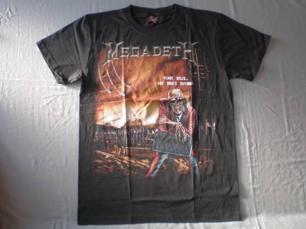 バンドTシャツ   メガデス( MEGADETH)  新品 L