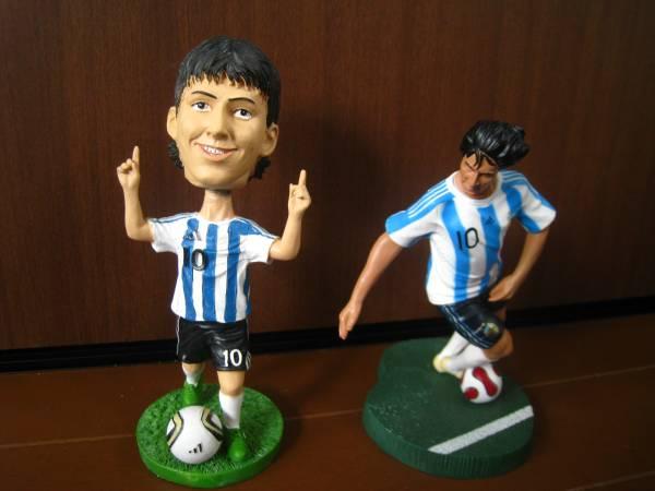メッシ16アルゼンチン代表ボブルヘッドFCバルセロナ15フィギュア グッズの画像